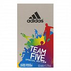 Adidas Team Five Aftershave for men 50 ml
