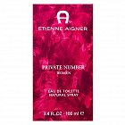 Aigner Private Number Eau de Toilette for women 100 ml