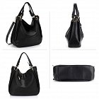 Anna Grace AG00448 handbag shoulder black