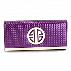 Anna Grace LSP1058A purse purple