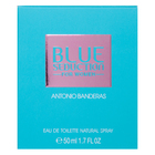 Antonio Banderas Blue Seduction for Women Eau de Toilette femei 50 ml