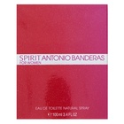 Antonio Banderas Spirit for Woman Eau de Toilette nőknek 100 ml