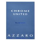 Azzaro Chrome United Eau de Toilette bărbați 50 ml