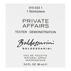 Baldessarini Baldessarini Private Affairs Eau de Toilette bărbați 90 ml Tester