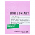 Benetton United Dreams Love Yourself Eau de Toilette für Damen 80 ml