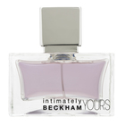 David Beckham Intimately Yours Men Eau de Toilette für Herren 75 ml