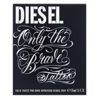 Diesel Only The Brave Tattoo Eau de Toilette für Herren 50 ml