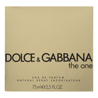 Dolce & Gabbana The One Eau de Parfum femei 75 ml
