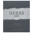 Guess 1981 Eau de Toilette bărbați 100 ml