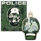 Police To Be Camouflage Eau de Toilette bărbați 125 ml