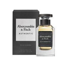 Abercrombie & Fitch Authentic Man Eau de Toilette für Herren 100 ml