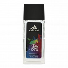 Adidas Team Five Deodorants in glass for men 75 ml