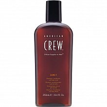 American Crew 3-in-1 shampoo, conditioner and body wash for everyday use 250 ml