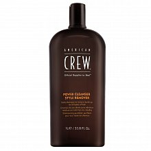 American Crew Power Cleanser Style Remover shampoo detergente per uso quotidiano 1000 ml