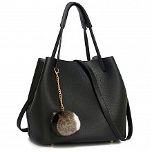 Anna Grace AG00190 handbag shoulder black