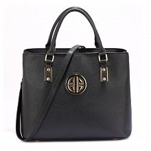 Anna Grace AG00472 handbag tote black