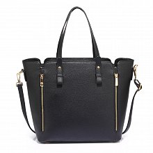 Anna Grace AG00502 handbag tote black