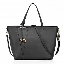 Anna Grace AG00522 handbag shoulder black