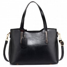 Anna Grace AG00528 handbag tote black