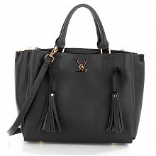 Anna Grace AG00551 handbag tote black