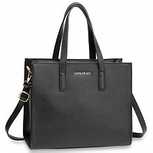 Anna Grace AG00592 handbag tote black