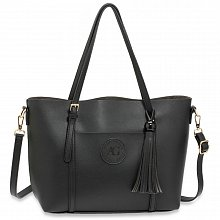 Anna Grace AG00595 handbag shoulder black