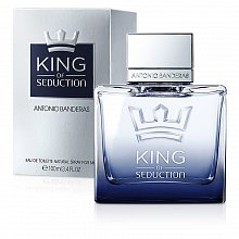 Antonio Banderas King Of Seduction Eau de Toilette da uomo 100 ml