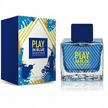 Antonio Banderas Play in Blue Seduction Eau de Toilette da uomo 10 ml Spruzzo