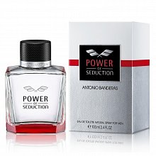 Antonio Banderas Power of Seduction Eau de Toilette da uomo 100 ml