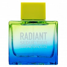 Antonio Banderas Radiant Seduction Blue Eau de Toilette da uomo 10 ml Spruzzo