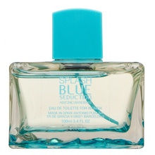 Antonio Banderas Splash Blue Seduction for Women Eau de Toilette nőknek 10 ml Miniparfüm