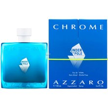 Azzaro Chrome Under The Pole Eau de Toilette para hombre 100 ml