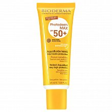 Bioderma Photoderm MAX Aquafluid Golden Colour SPF 50+ krem do opalania do ujednolicenia kolorytu skóry 40 ml
