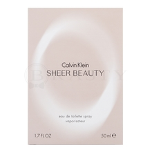 Calvin Klein Sheer Beauty Eau de Toilette für Damen 50 ml