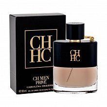 Carolina Herrera CH Men Prive Eau de Toilette bărbați 50 ml