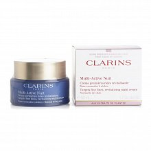 Clarins Multi-Active Night Dry Skin siero notturno intensivo per la pelle secca 50 ml