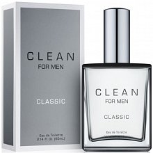 Clean For Men Classic Eau de Toilette für Herren 60 ml