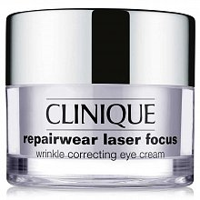 Clinique Repairwear Laser Focus Wrinkle Correcting Eye Cream smoothing eye cream for all skin types 15 ml