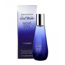 Davidoff Cool Water Night Dive Woman Eau de Toilette femei 80 ml