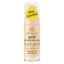 Dermacol Gold Anti-Wrinkle Make-Up Base Egységesítő sminkalap ráncok ellen 20 ml