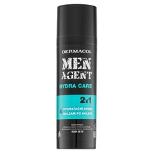 Dermacol Men Agent Hydra Care 2in1 Moisturiser & After Shave emulsione idratante 2in1 50 ml