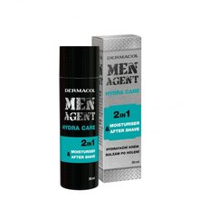 Dermacol Men Agent Hydra Care 2in1 Moisturiser & After Shave moisturizing emulsion 2in1 50 ml