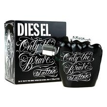 Diesel Only The Brave Tattoo Eau de Toilette bărbați 10 ml Eșantion