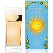 Dolce & Gabbana Light Blue Sun Eau de Toilette nőknek 100 ml