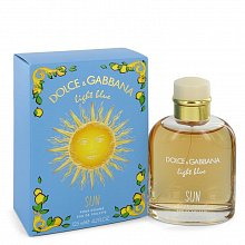 Dolce & Gabbana Light Blue Sun Pour Homme Eau de Toilette for men 125 ml