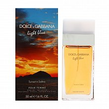 Dolce & Gabbana Light Blue Sunset in Salina Eau de Toilette da donna 50 ml