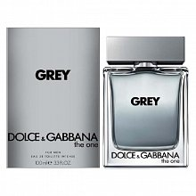 Dolce & Gabbana The One Grey Eau de Toilette bărbați 100 ml