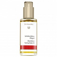 Dr. Hauschka Blackthorn Toning Body Oil aceite corporal anti-estrías 75 ml