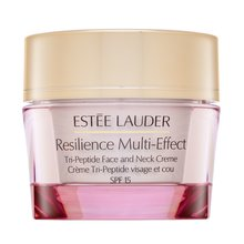 Estee Lauder Resilience Multi-Effect Tri-Peptide Face and Neck Creme SPF15 Normal/Comb. Skin Liftingcreme für Hals und Dekolletee 50 ml