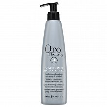 Fanola Oro Therapy Diamante Puro Conditioner strengthening conditioner for strained and delicate hair 300 ml